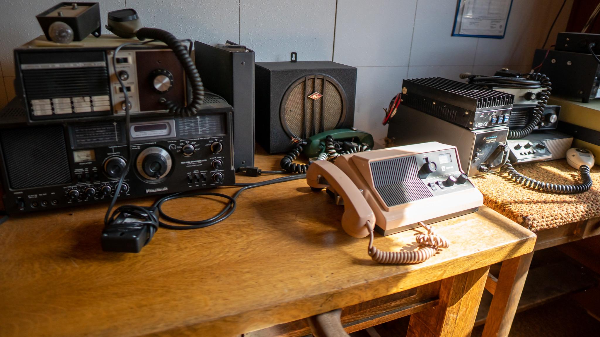 ham radio at snug harbor outpost