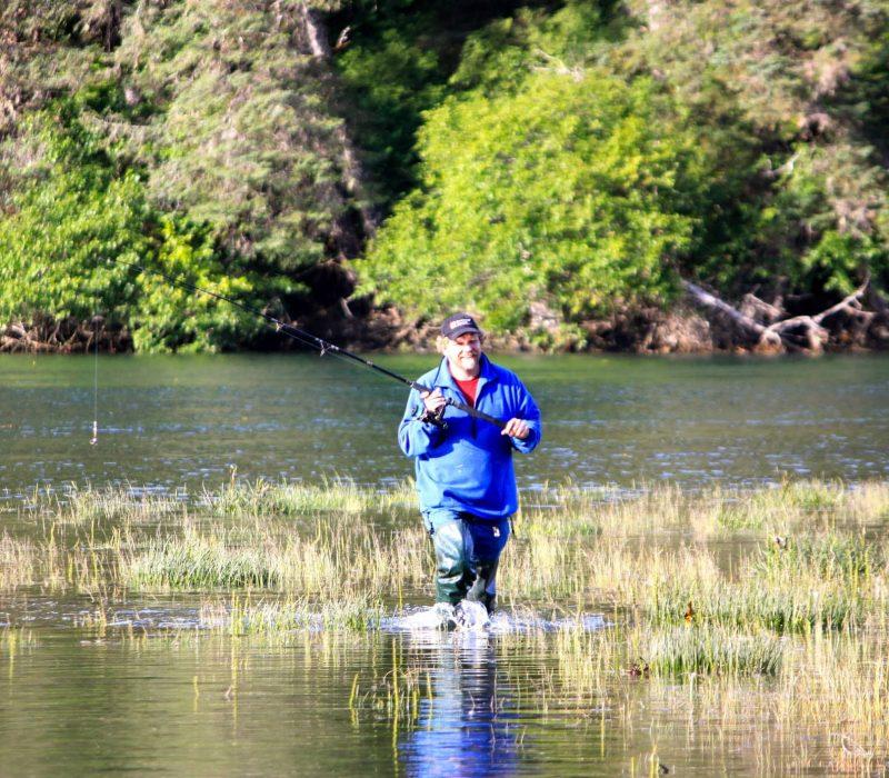 alaskan salmon fishing