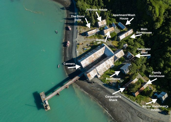 buildings of snug harbor outpost