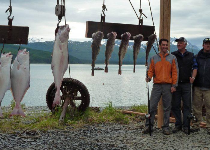 alaskan halibut and salmon fishing